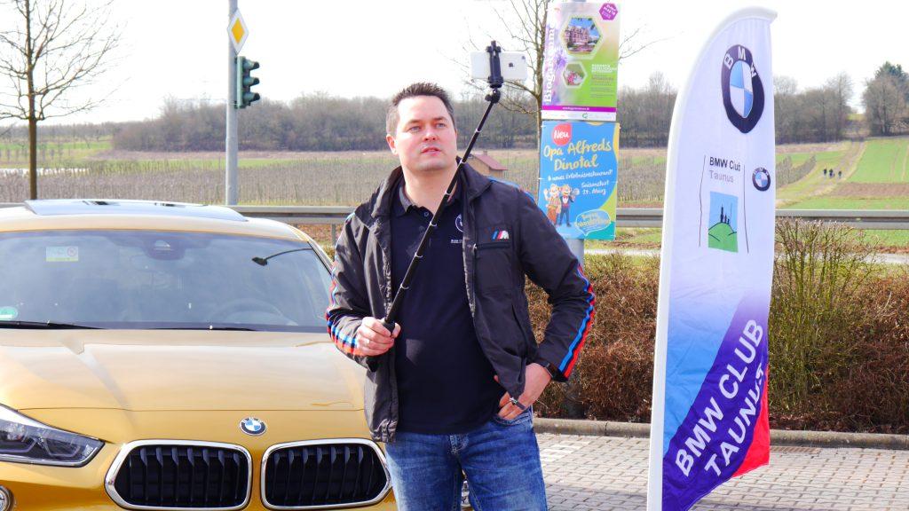 BMW Club Taunus gestestet: Selfie Stick ZentCT - CT046