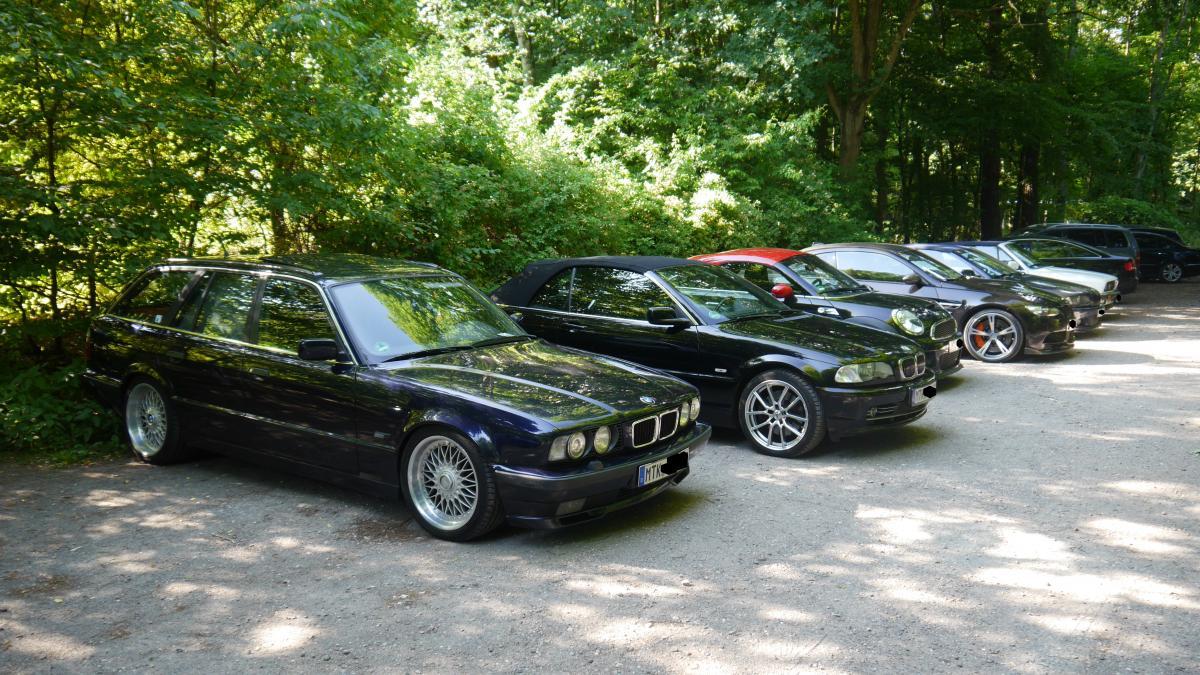Parkplatz BMW Club Taunus